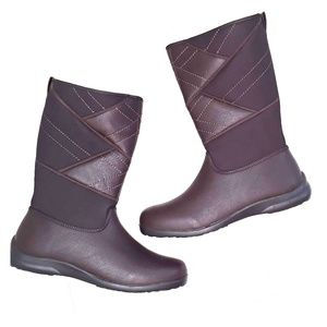 NWOB Totes brown tall boots sz 8.5